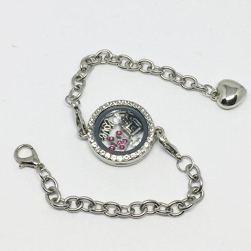 Camelot Memory Locket Bracelet