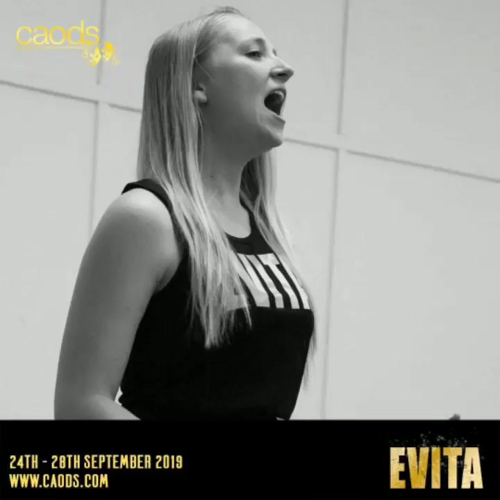 A Sneak Peek of Evita by CAODS