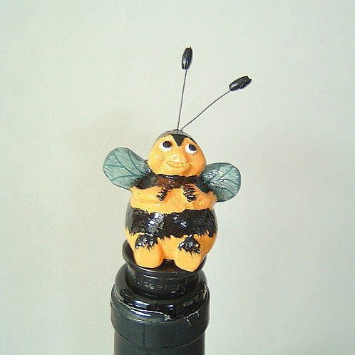 Calamity Jane Hive Full of Honey Bottle Stopper