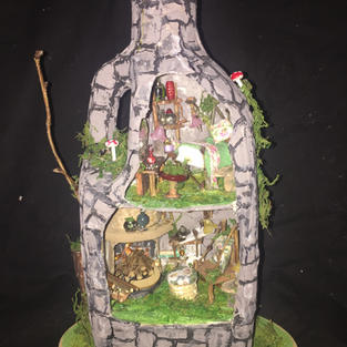 Commissioned Fairy House