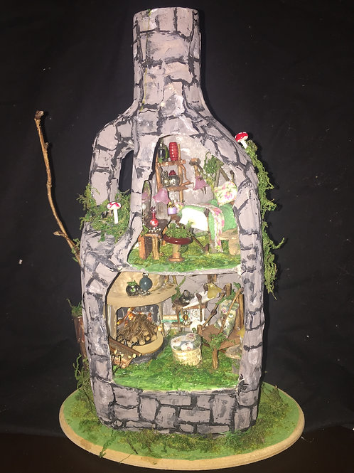 Custom Made Fairy House