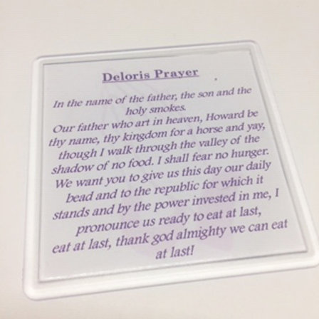 Sister Act Deloris Prayer Coaster
