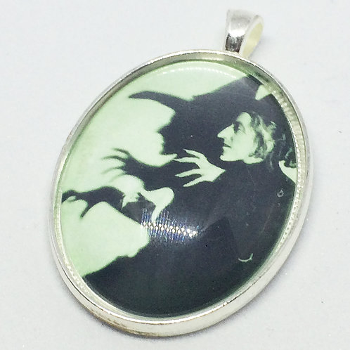 Wicked Witch Oval Pendant