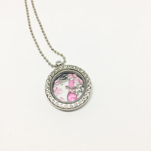 Legally Blonde memory Locket necklace