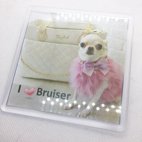Legally Blonde 'I Love Bruiser' Coaster