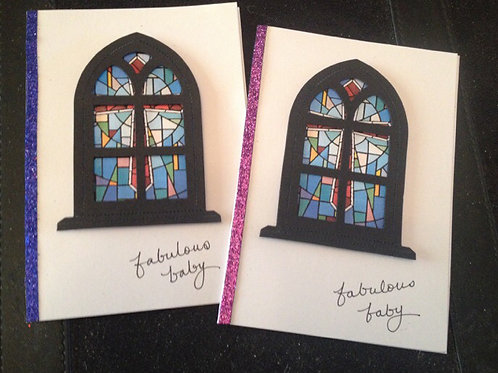 Sister Act - Fabulous Baby Card