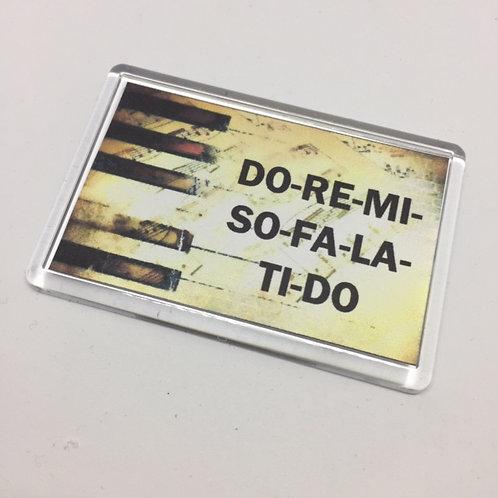 Do-Re-Mi Fridge Magnet