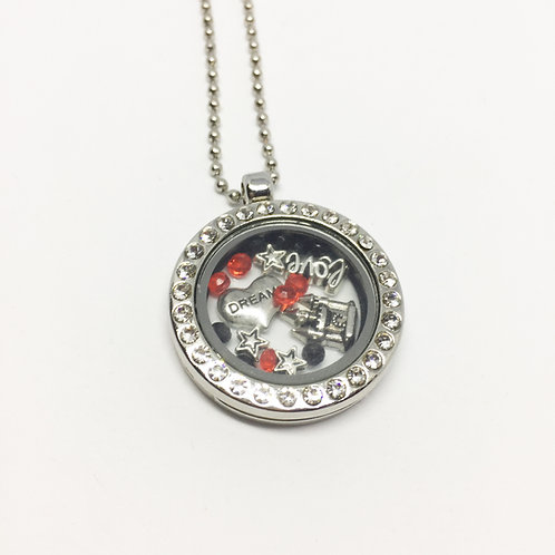 Les Miserables Memory Locket necklace