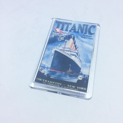 Titanic Fridge Magnet