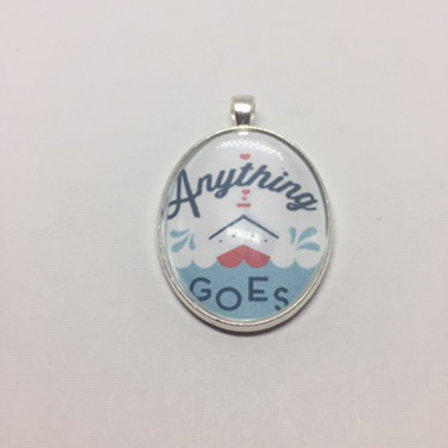Anything Goes Oval Pendant