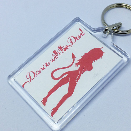 Witches of Eastwick - Dance in the Devil - Double sided Keyring