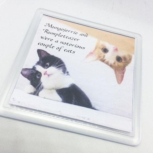 Cats 'Mungojerrie & Rumpleteaser' Coaster