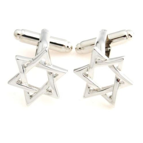 Fiddler on the Roof Star of David Cufflinks