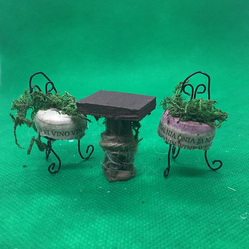 Fairy World Fairy House Bistro Table and Chairs