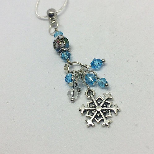 Snowflake Turquoise Necklace