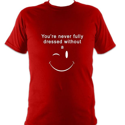 """Children's """"Never Fully Dressed without a Smile"""" T-shirt"""