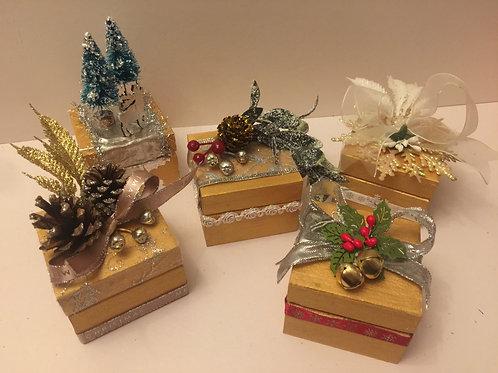 Individually designed wooden keepsake/chocolate boxes