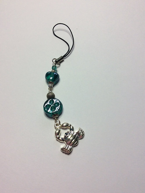 copy of Zodiac Cancer hanging charm