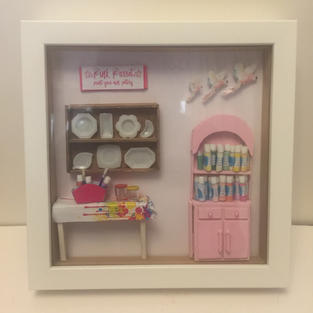 Commission Business Shadowbox