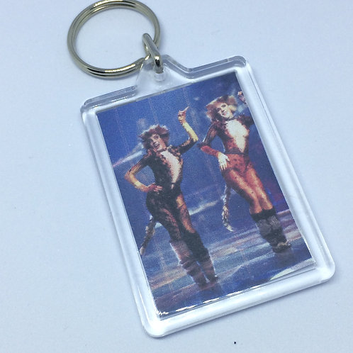 Cats Double Sided Keyring
