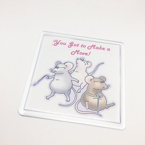 Shrek 3 Blind Mice Coaster