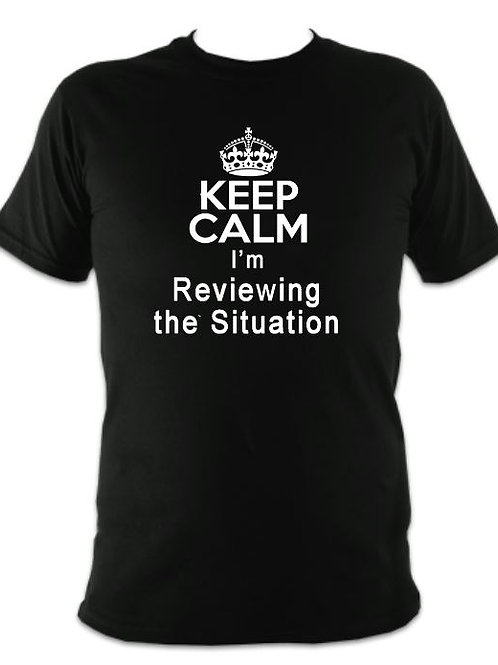 Oliver Unisex Reviewing the Situation T-shirt