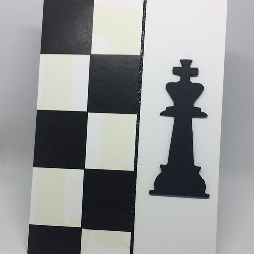 Chess 'Chess Pieces' Card