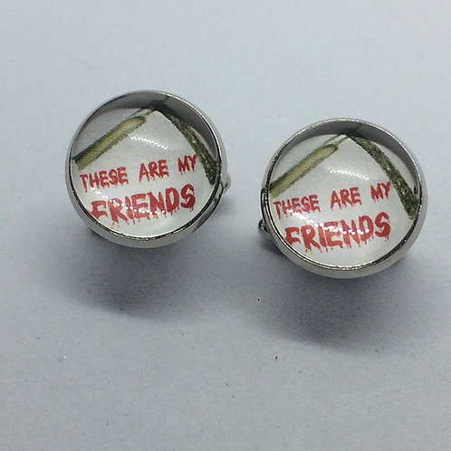 'These are My Friends' Cufflinks