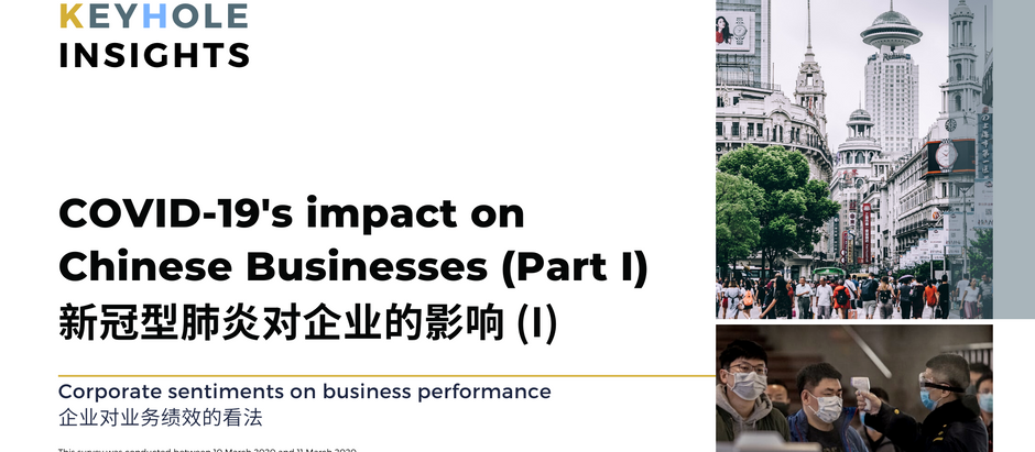 Covid-19's impact on Chinese Business Sentiments