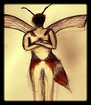 Queen Bee, Jessica Caudery site logo