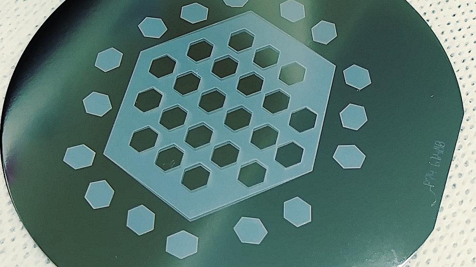 DNAReax 10x10 cm custom cut nano-porous ceramic film