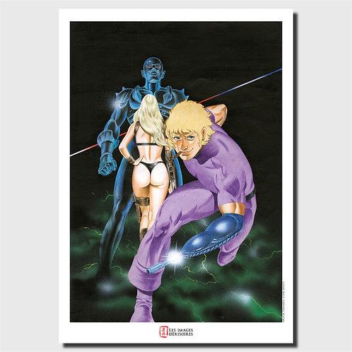 Affiche d'art - Space Pirate Cobra
