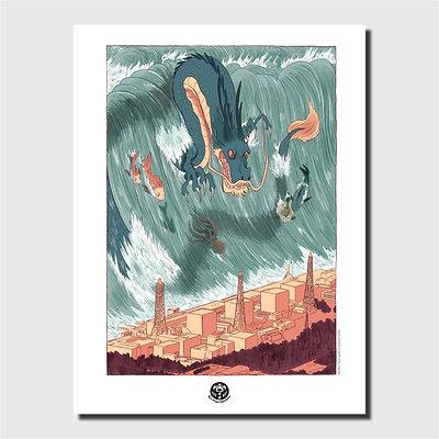 Affiche d'art - Naoto
