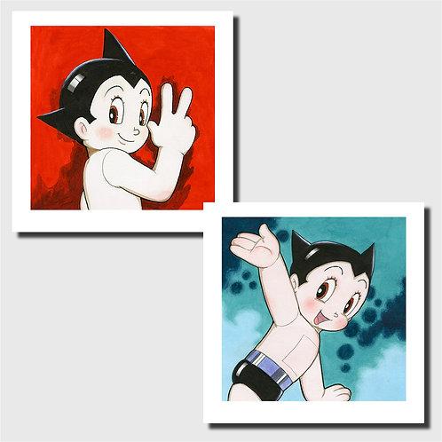 Affiche d'art - Astro Boy Set B