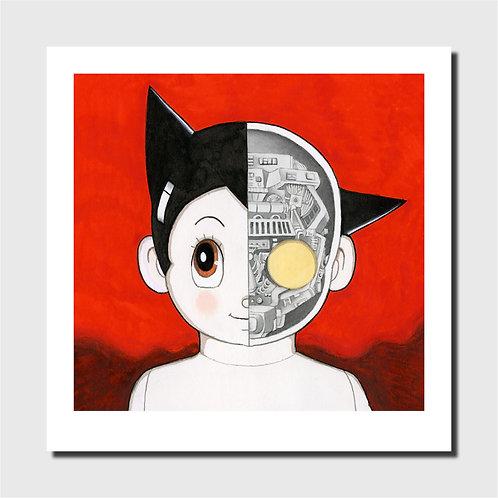 Affiche d'art - Astro Boy Red