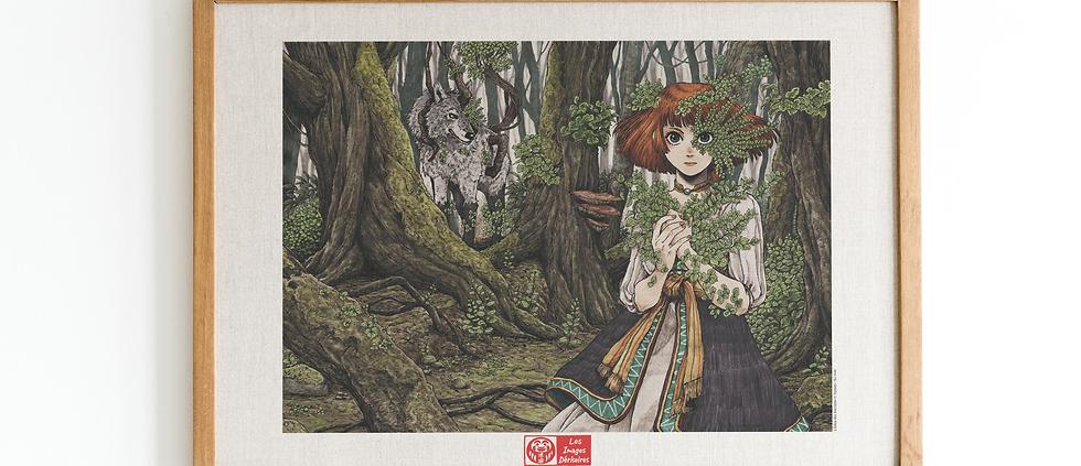 Affiches d'art - l'Eden des sorciers