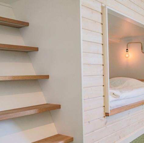 Görvik - ett mysigt fyrbäddsrum som barnen älskar...