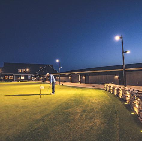 Puttingreenen Halmstad Golfarena