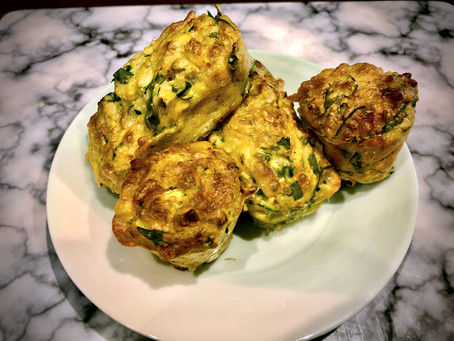 Baby Friendly Vegetable Muffins