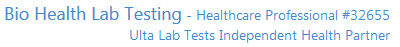 Ulta Lab Tests ~ Bio Health Lab Testing