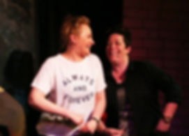 The Suggestibles improv comedy group Newcastle, Bev Fox, Rachel Glover