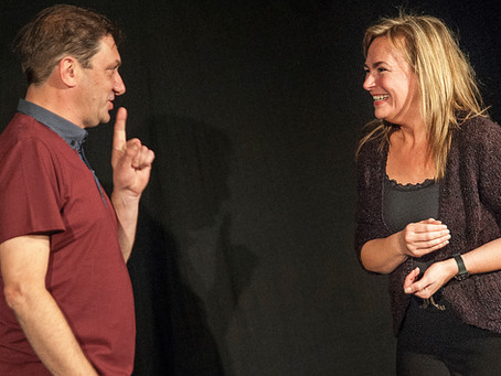 Meet School of Improv Teachers, 'Mac and Fox'