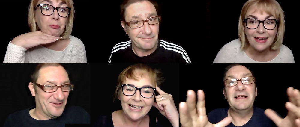 Improv Teachers: Bev Fox and Ian McLaughlin of the Suggestibles and School of Improv in Newcastle