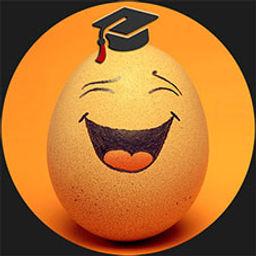 LOGO School of Improv Egg circle #1D1D1D