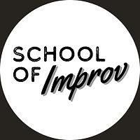 school of improv logo black on white cir