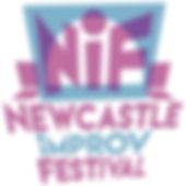 Newcastle Improv Festival Logo Portrait