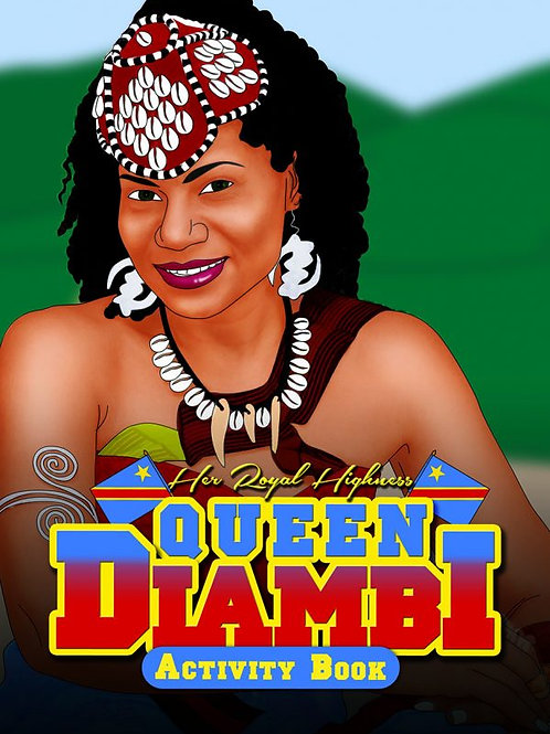Queen Diambi Activity Book