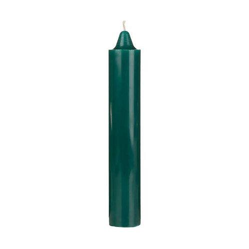 """9"""" Green Pillar Candles"""