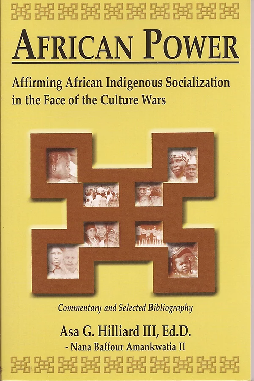 African Power: Affirming African Indigenous Socialization in the Face
