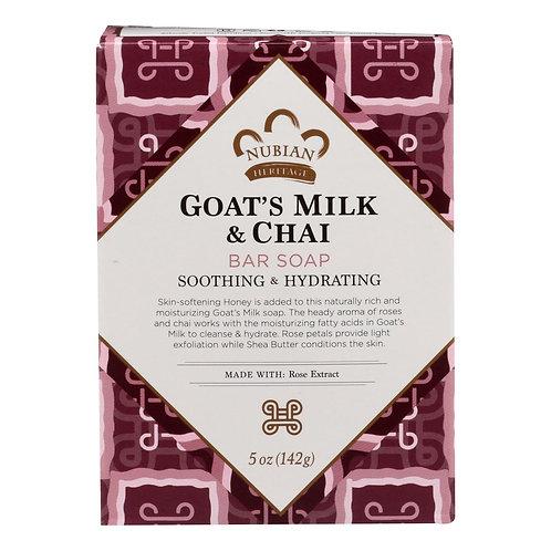 Nubian Goats Milk & Chai Bar Soap